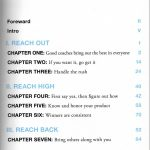 REACH Table of Contents